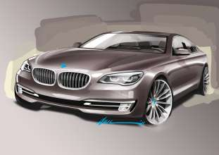 The new BMW 7 Series, Exterior Sketch (05/2012)