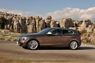 The new BMW 1 Series 3 Door Hatch (05/2012)