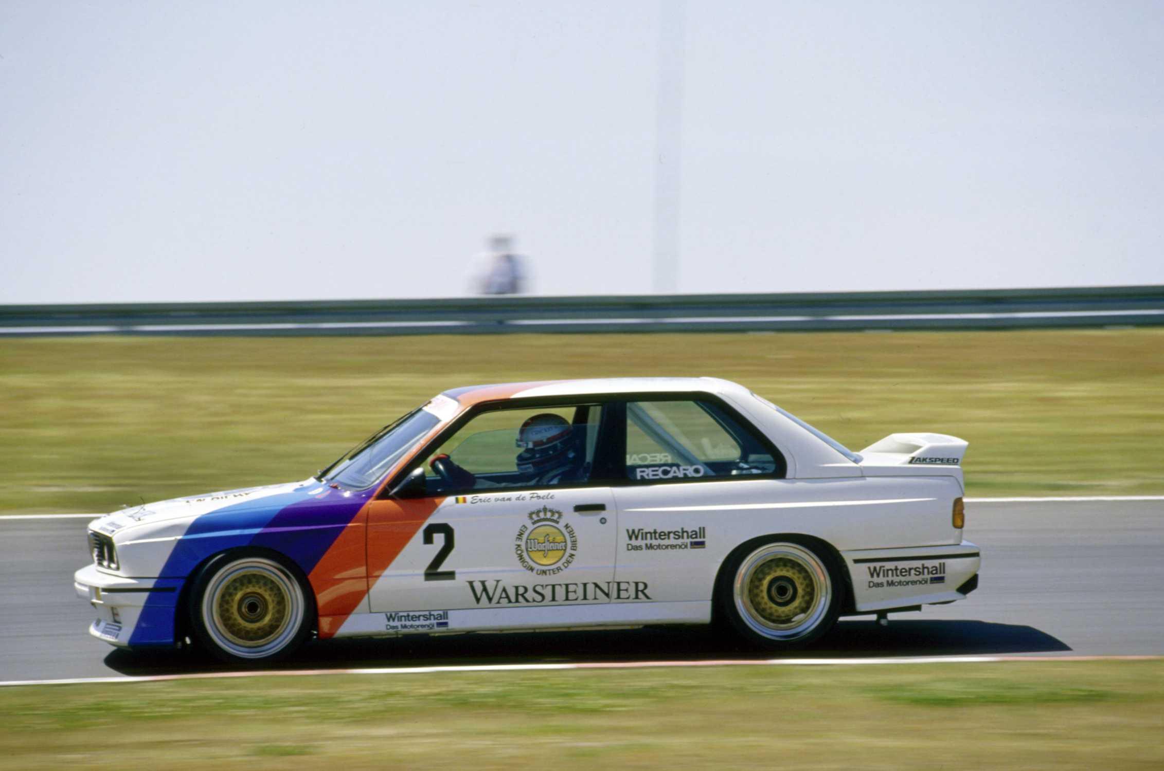 Dtm 1987 Eric Van De Poele In The Bmw M3 7th Race Nürburgring 04 2012