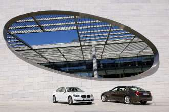 The new BMW 7 Series and the new BMW Series Long Wheel Base (05/2012)