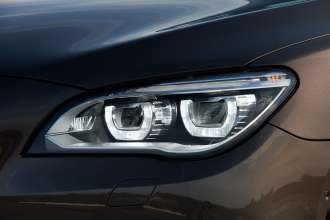 The new BMW 7 Series: LED Headlight (05/2012)