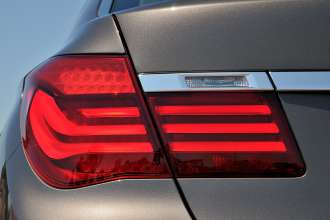 The new BMW 7 Series: Tail Lamp (05/2012)