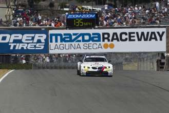 BMW Team RLL at Laguna Seca. (05/2012)