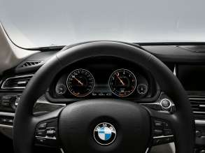 The new BMW 7 Series: Multifunctional Instrument Display, Comfort Mode (05/2012)
