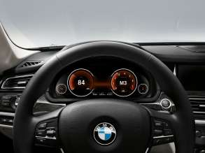 The new BMW 7 Series: Multifunctional Instrument Display, Sport+ Mode (05/2012)