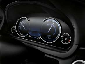 The new BMW 7 Series: Multifunctional Instrument Display, ECO PRO Mode (05/2012)