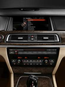The new BMW 7 Series: Central Information Display (05/2012)