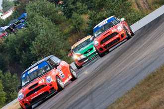 MINI JCW's at Canadian Touring Car Championship Mosport. (05/2012)
