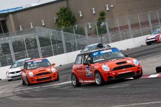 MINI JCWs at Canadian Touring Car Championship 2011 (Lauziere-Sallenbach). (05/2012)