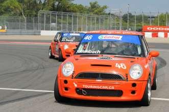 MINI JCWs at Circuit Gilles Villeneuve (Sallenback & Rapone). (05/2012)