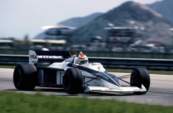 Nelson Piquet beim Großen Preis von Brasilien, 1983 im Brabham BMW BT 52 (05/2012)