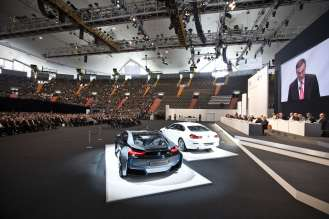 92nd Annual General Meeting of BMW AG at the Olympiahalle in Munich on 16th May 2012 (05/2012)