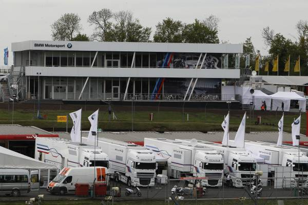 Brands Hatch (GB) 18th May 2012. BMW Motorsport. BMW Team Trucks and BMW Media and Team Hospitality. This image is copyright free for editorial use © BMW AG (05/2012).