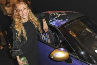 Unveiling of Life Ball MINI 2012 designed by Franca Sozzani (05/2012) © G.Nitschke/BrauerPhotos for MINI
