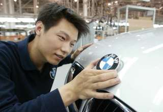 Application of BMW Logo Plant Tiexi (05/2012)