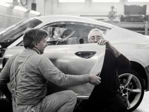 Assembling of the handcrafted parts of the BMW Zagato Coupé in Turin (05/2012)