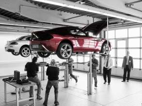 Technical check at BMW test track in Munich (05/2012)