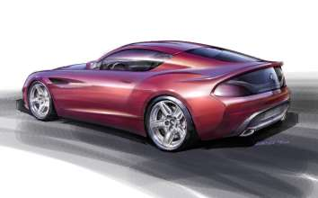 Design Sketch by Norihiko Harada, Chief Designer Zagato (05/2012)