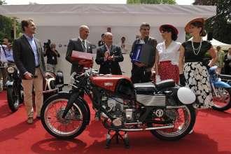 Concorso d'Eleganza Villa d'Este 2012 Motorcycle Concorso Award Ceremony Gilera 500