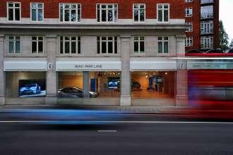 Der weltweit erste BMW i Store - BMW i Park Lane, London (06/2012)