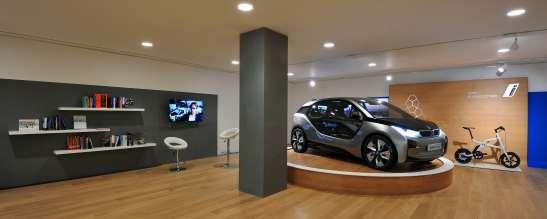 Präsentation des neuen BMW i3 Concept im weltweit ersten BMW i Store - BMW i Park Lane, London (06/2012)