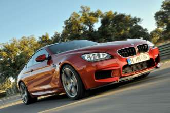 The new BMW M6 Coupe. (06/2012)