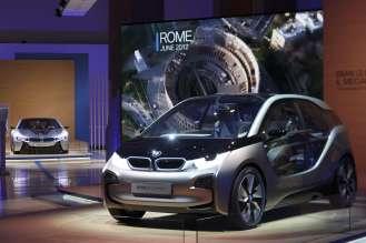 Rome, 20 June 2012. Palazzo delle Esposizioni. Presentation of the BMW i Born Electric Tour (06/2012).