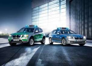 BMW X3 and BMW 5 Series Touring  Police Vehicles  (06/2012