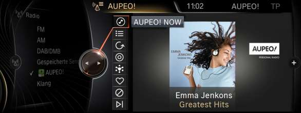 BMW ConnectedDrive, New generation Navigation system Professional Apps Aupeo (07/2012)