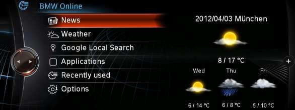 BMW ConnectedDrive, New generation Navigation system Professional BMW Online news (07/2012)