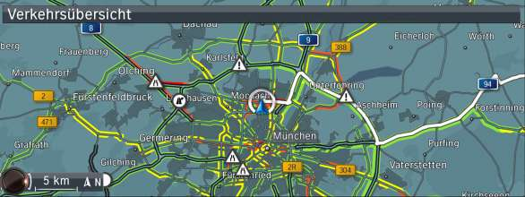 BMW ConnectedDrive, New generation Navigation system Professional RTTI (07/2012)
