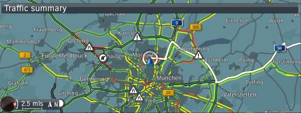 BMW ConnectedDrive, New generation Navigation system Professional RTTI (07/2012)