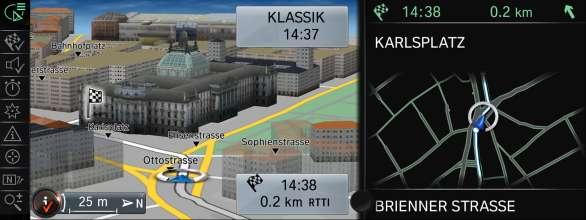 BMW ConnectedDrive, New generation Navigation system Professional, Navigation (07/2012)