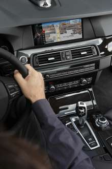 BMW ConnectedDrive, New generation Navigation system Professional, extended toolbar (07/2012)