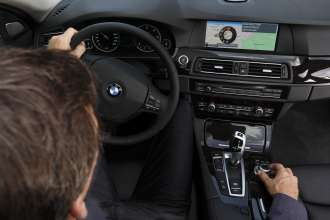 BMW ConnectedDrive, New generation Navigation system Professional, interactive map view 07/2012)
