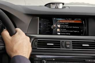 BMW ConnectedDrive, New generation Navigation system Professional, Facebook (07/2012)