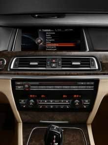 BMW ConnectedDrive, New Generation Navigation system Professional, main menu (07/2012)