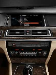 BMW ConnectedDrive, New Generation Navigation system Professional, main menu (07/2012)