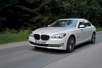 The new BMW 7 Series - On location pictures at  the international pressevent in St. Petersburg (07/2012)