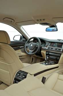 The new BMW 7 Series Long Wheel Base - On location pictures at  the international pressevent in St. Petersburg (07/2012)