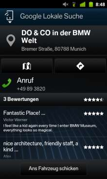 BMW ConnectedDrive, My Remote App Android (07/2012)