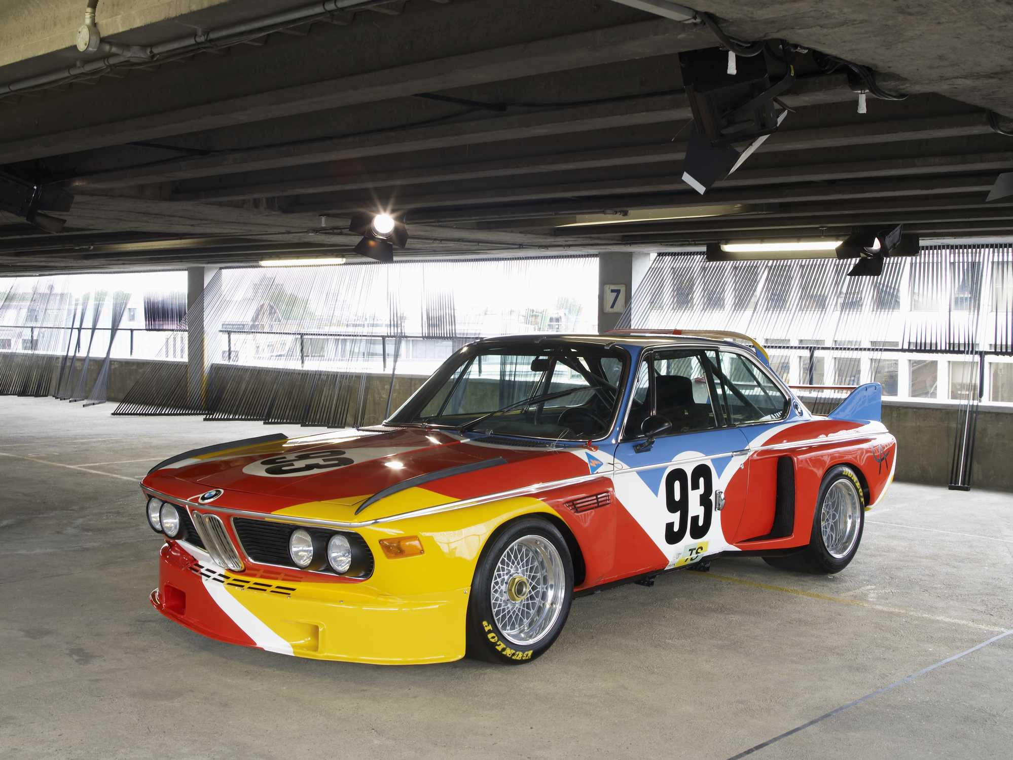 BMW Car Art #1 - BMW 3.0 CSL Alexander Calder - Immagine Artcarbmw.com