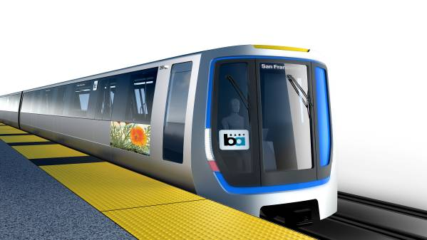Bay Area Rapid Transit Bart Selects Bmw Group Designworksusa To Create Its Fleet Of The Future With New Generation Of Train Cars