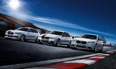 BMW M Performance Parts – diverse models. (09/2012)