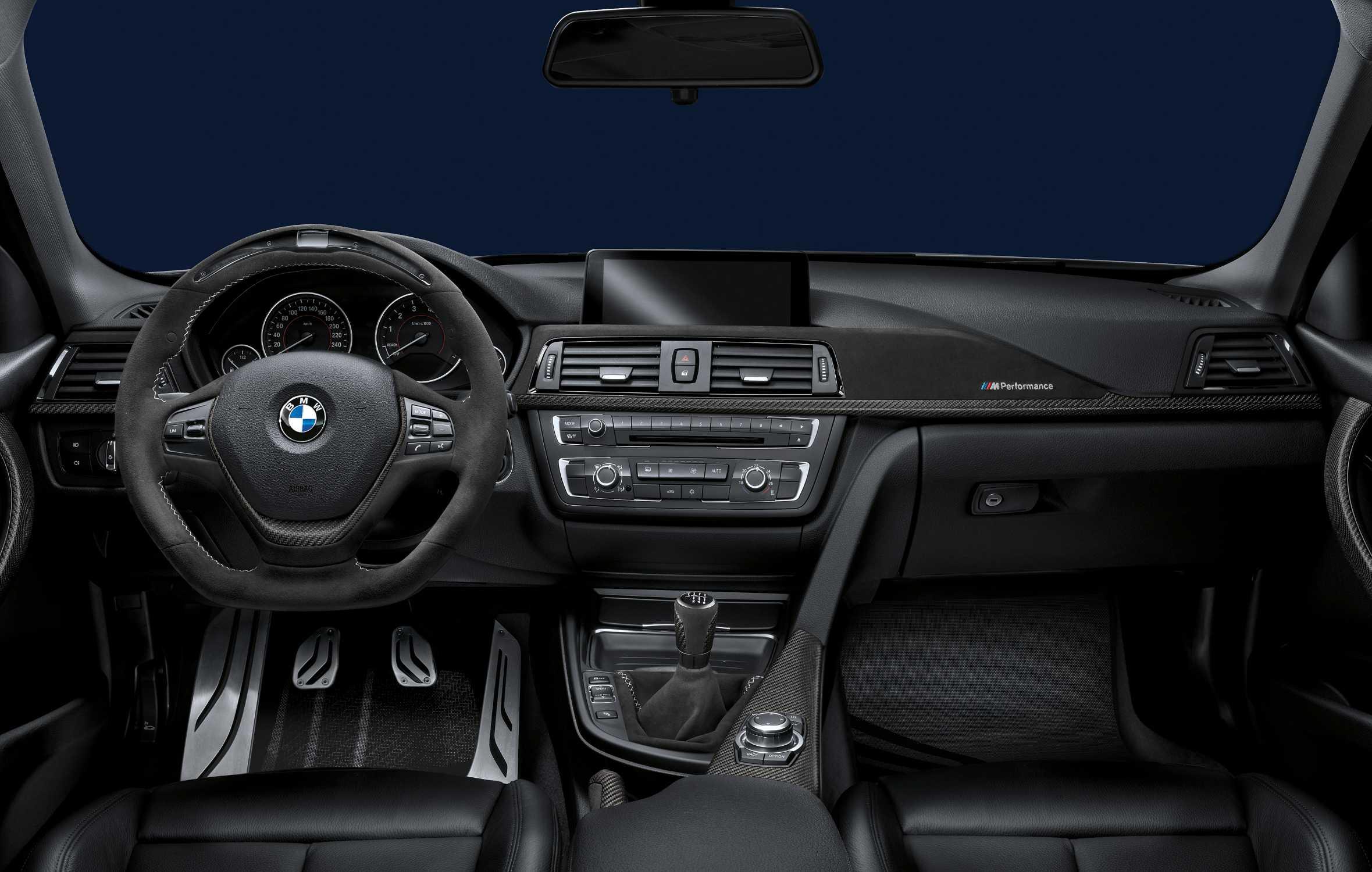 Bmw 3er Sedan With Bmw M Performance Parts Interior Bmw M