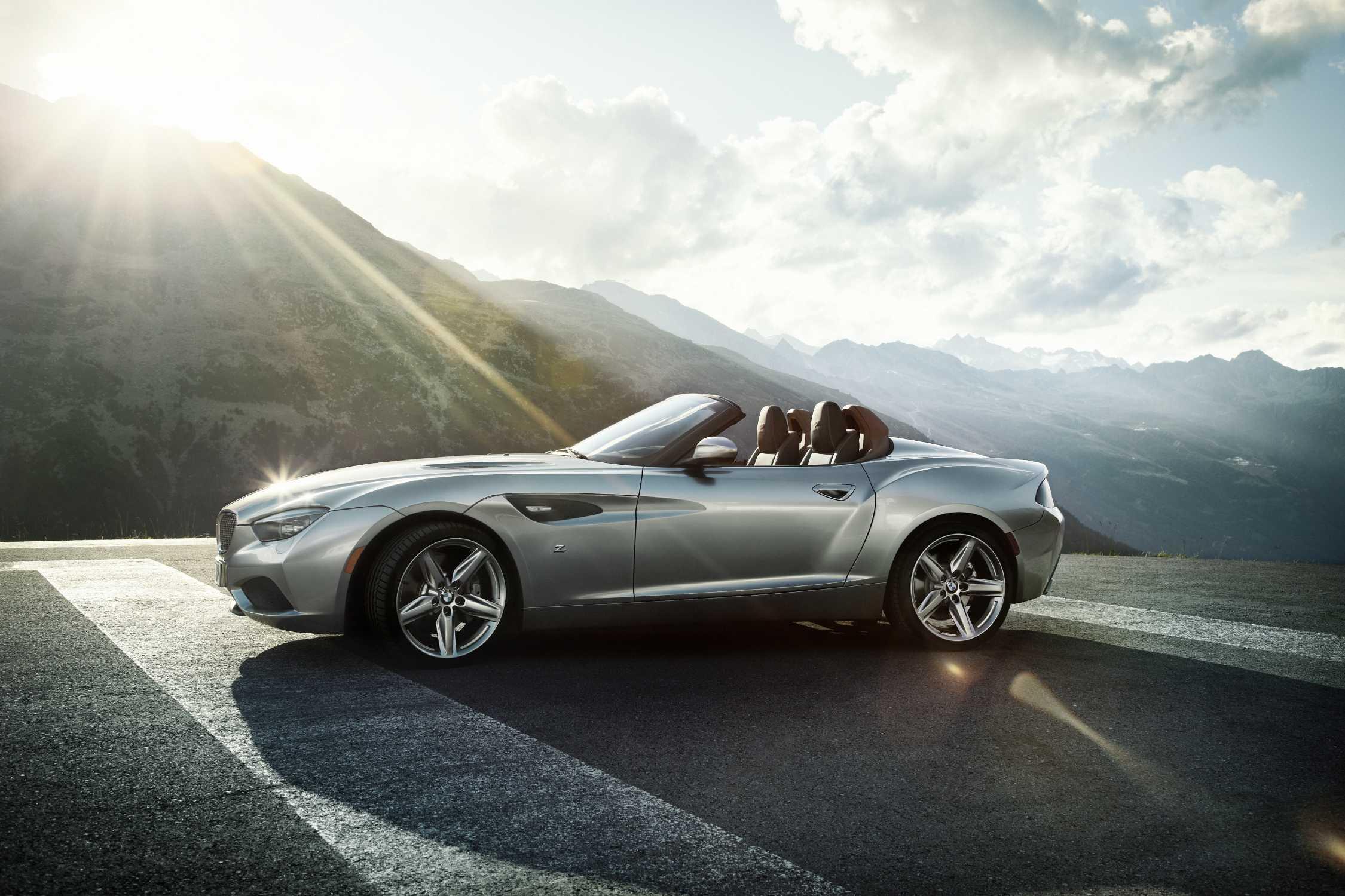 BMW Zagato Roadster.