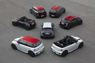The John Cooper Works Family (09/2012).