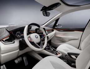 BMW Concept Active Tourer, Interior (09/2012)