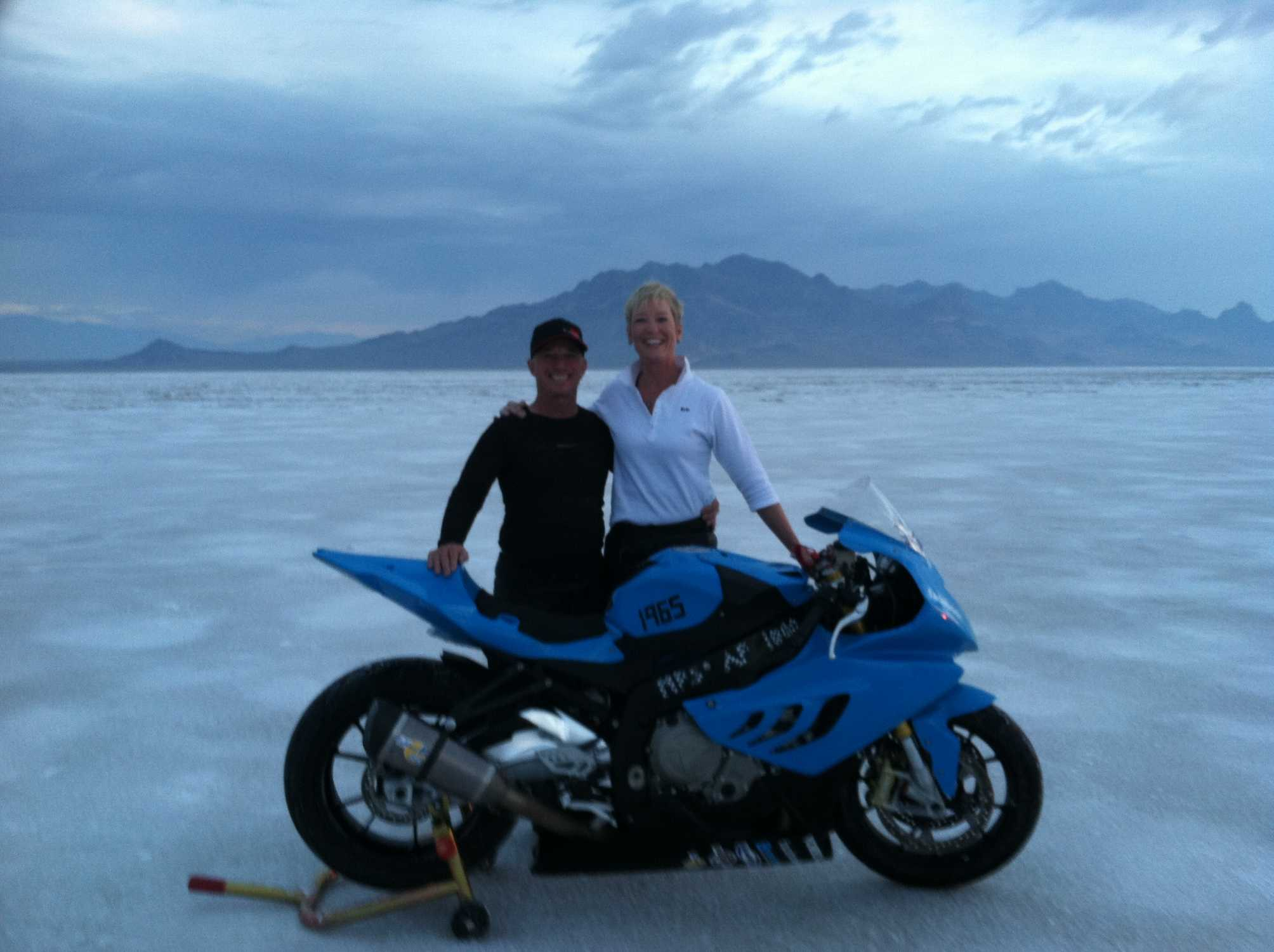 new world and national records for bmw motorcycles andy sills and