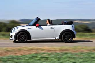 MINI John Cooper Works Convertible (09/2012).